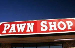 A Pawn Shop sign